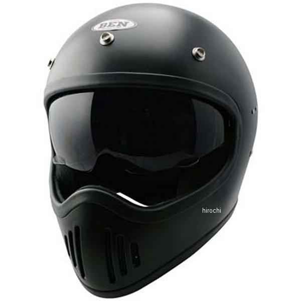 【メーカー在庫あり】 TNK工業 フルフェイスヘルメット B-80 ヴィンテージモトクロスヘルメット ハーフマットブラック フリーサイズ(58-59) 4984679512568 HD店