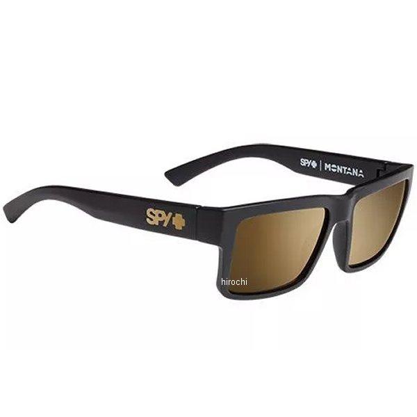 スパイ SPY サングラス MONTANA アジアンフィット ソフトマットブラック ゴールドミラー 648478790339 HD店