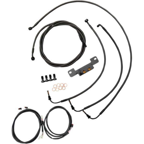 【USA在庫あり】 LAチョッパーズ LA Choppers CABLE KIT CM 15-17 FL 17+ 0662-0572 HD店