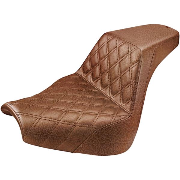 【USA在庫あり】 サドルメン Saddlemen SEAT STEP UP DRVR LS BRWN 0802-1170 HD店