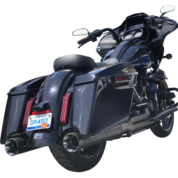 【USA在庫あり】 S&Sサイクル S&S Cycle MUFFLER SHADOW BL 95-8FL 1861-1393 HD店
