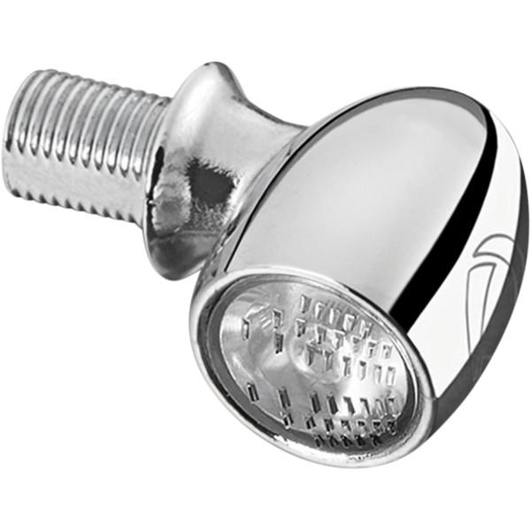 【USA在庫あり】 クリアキン Kuryakyn LEDウインカー ケラーマン ATTO クリア/アンバー クローム 2020-1622 HD店