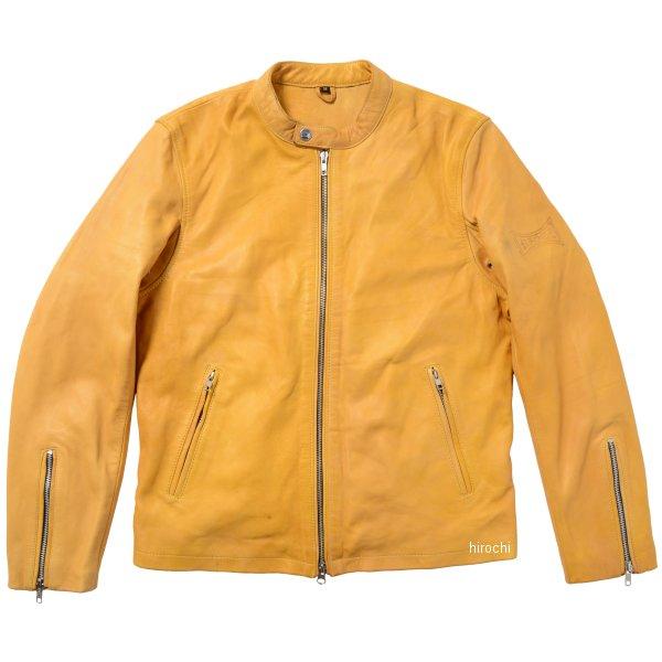 ライズ RIDEZ シングルライダースジャケット THE BLACK FLAG タン 36インチ BFJ01 HD店