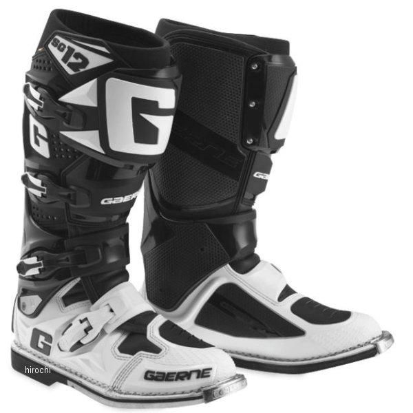 【USA在庫あり】 ガエルネ GAERNE ブーツ SG-12 白/黒 7サイズ(26cm) 455734 HD店
