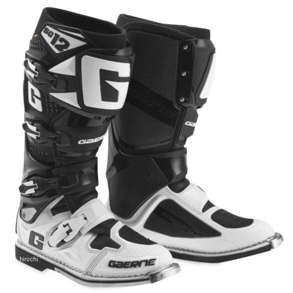 【USA在庫あり】 ガエルネ GAERNE ブーツ SG-10 黒/白 9.5サイズ(27.25cm) 455860 HD店