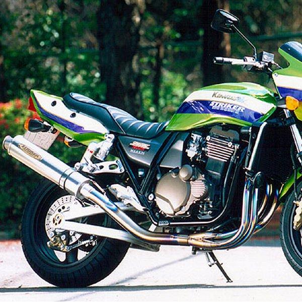 ストライカー STRIKER フルエキゾースト SST 4-1 STD 真円φ110-480 08年以前 ZRX1200、ZRX1100 チタン素地 4011BTT HD店