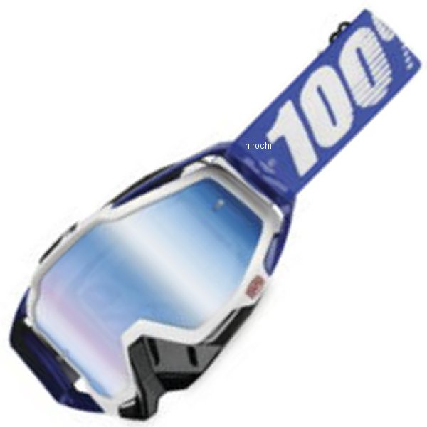 【USA在庫あり】 100パーセント 100% ゴーグル Racecraft Cobalt Blue/ブルーレンズ 951008 HD店