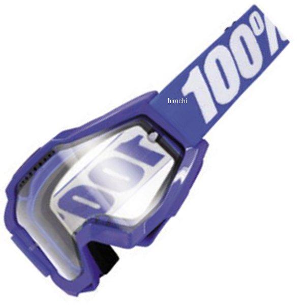 【USA在庫あり】 100パーセント 100% ゴーグル Accuri Enduro Reflex Blue/クリアレンズ 951076 HD店