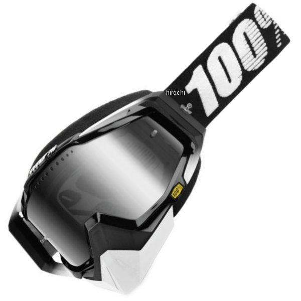 【USA在庫あり】 100パーセント 100% ゴーグル スノー Racecraft Abyss Black シルバーレンズ 951138 HD店