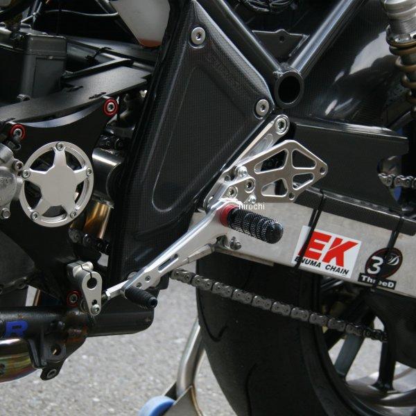 ストライカー STRIKER レーシングステップキット 92年-07年 ゼファー1100、ゼファー1100RS シルバー SR-BS02 HD店