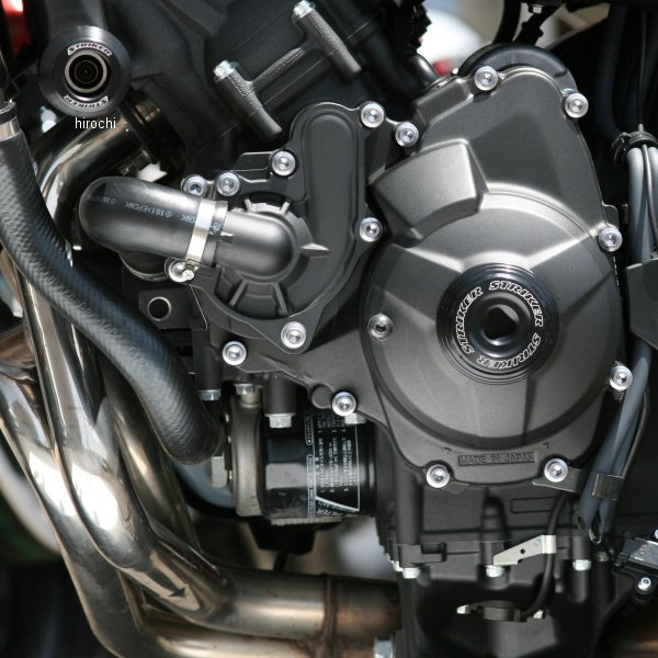 ストライカー STRIKER ガードスライダー ロア 14年-18年 MT-09、MT-09ABS、TRACER、XSR900 黒 SS-GS124A-F2 HD店