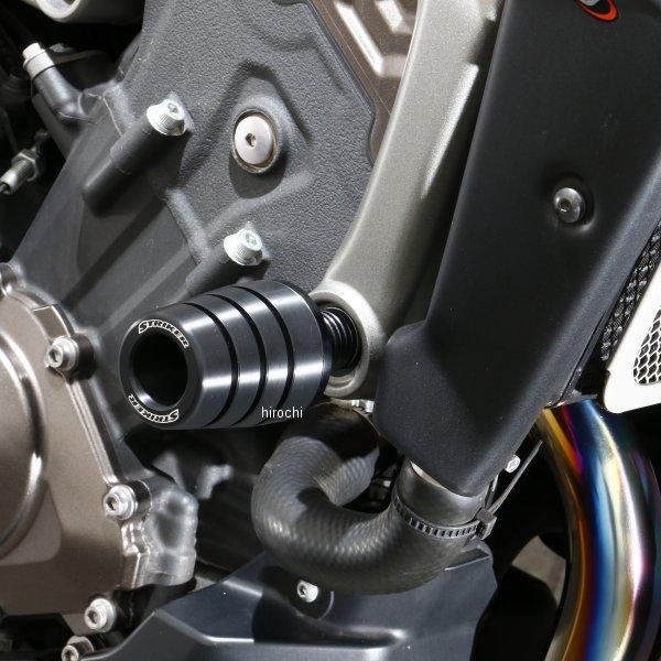 ストライカー STRIKER ガードスライダー アッパー 14年-18年 MT-09、MT-09ABS、TRACER、XSR900 黒 SS-GS124B-F1 HD店