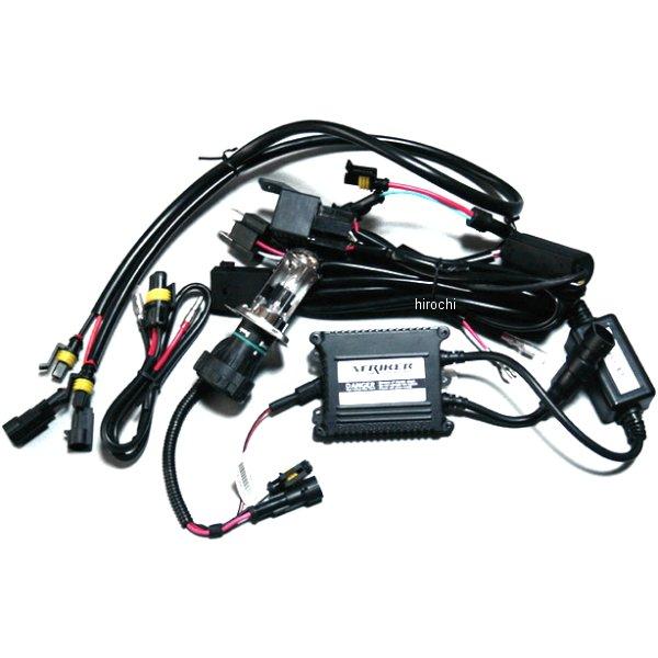 ストライカー STRIKER HIDキット H4 35W HI/LO 6000K SSY-HIDH4B3 HD店
