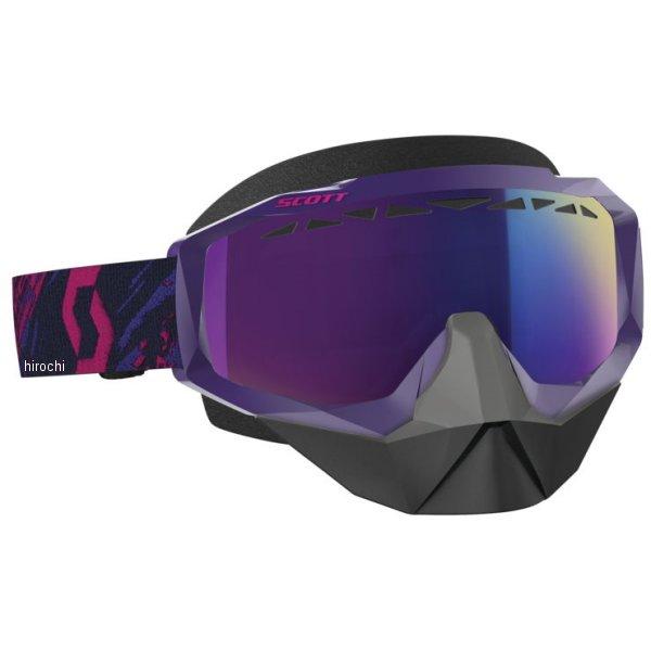 【USA在庫あり】 スコット SCOTT ゴーグル スノークロス Hustle 紫/ピンク Enhancer Tealクロームレンズ 519678 HD店