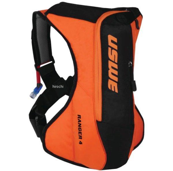 【USA在庫あり】 USWE ハイドレーションパック Ranger 4L オレンジ/黒 US0039 HD店