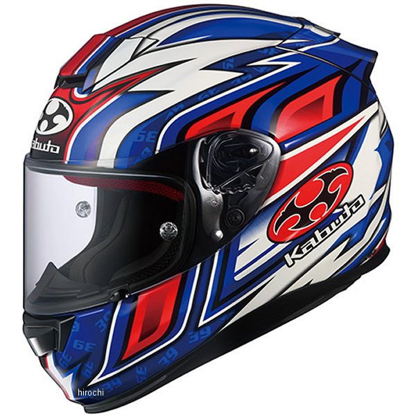 オージーケーカブト OGK KABUTO フルフェイスヘルメット RT-33 DAISAKU-2 青 XSサイズ 4966094578886 HD店