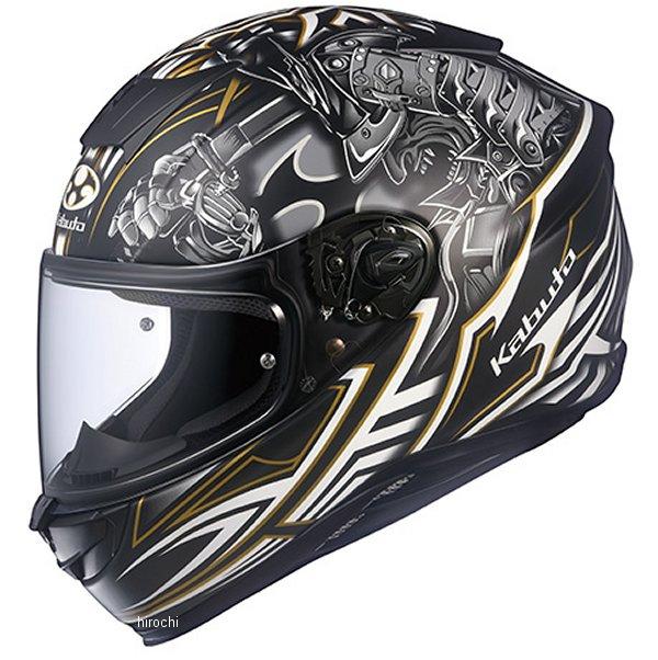 【メーカー在庫あり】 オージーケーカブト OGK KABUTO フルフェイスヘルメット AEROBLADE-5 SAMURAI フラットブラック Lサイズ 4966094584153 HD店