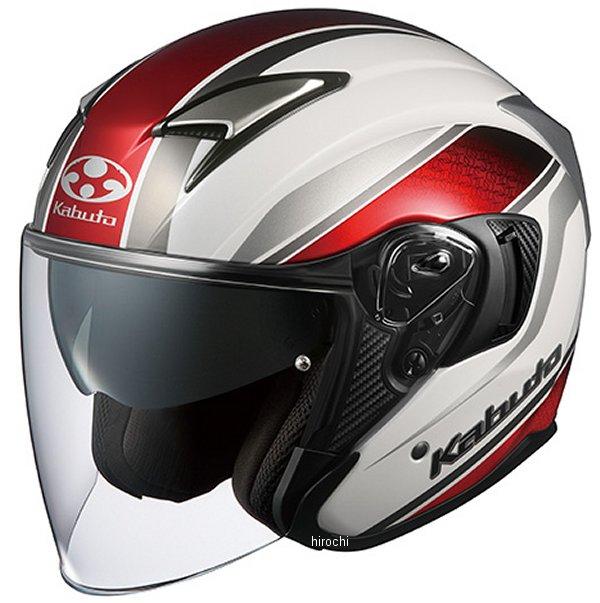 【メーカー在庫あり】 オージーケーカブト OGK KABUTO ジェットヘルメット EXCEED DEUCE パールホワイト Mサイズ 4966094584498 HD店