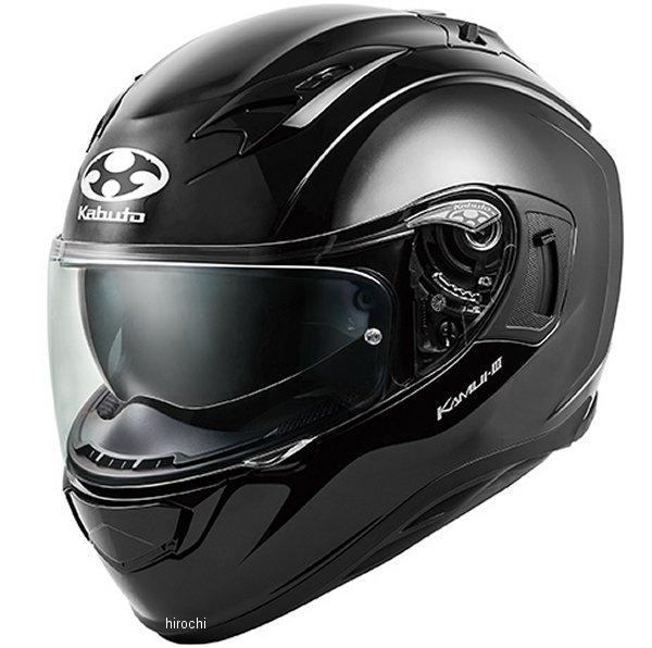 【メーカー在庫あり】 オージーケーカブト OGK KABUTO フルフェイスヘルメット KAMUI 3 ブラックメタリック Lサイズ 4966094584689 HD店