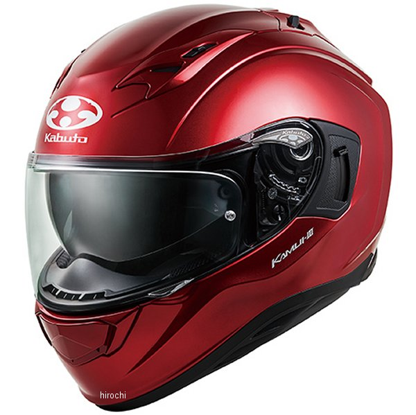 【メーカー在庫あり】 オージーケーカブト OGK KABUTO フルフェイスヘルメット KAMUI 3 シャイニーレッド Sサイズ 4966094584719 HD店