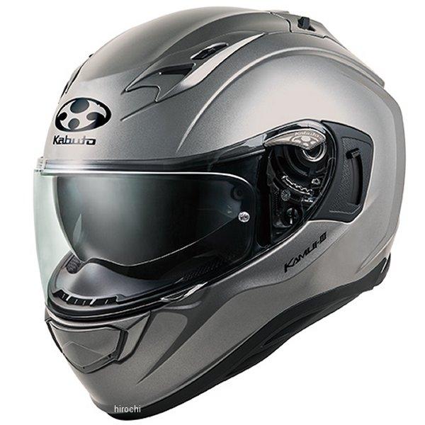 【メーカー在庫あり】 オージーケーカブト OGK KABUTO フルフェイスヘルメット KAMUI 3 クールガンメタ Lサイズ 4966094584788 HD店