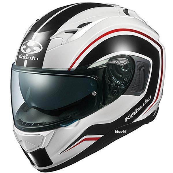 【メーカー在庫あり】 オージーケーカブト OGK KABUTO フルフェイスヘルメット KAMUI 3 KNACK 白黒 Sサイズ 4966094584863 HD店