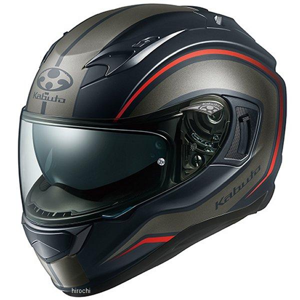 オージーケーカブト OGK KABUTO フルフェイスヘルメット KAMUI 3 KNACK フラットブラックグレー Lサイズ 4966094584931 HD店