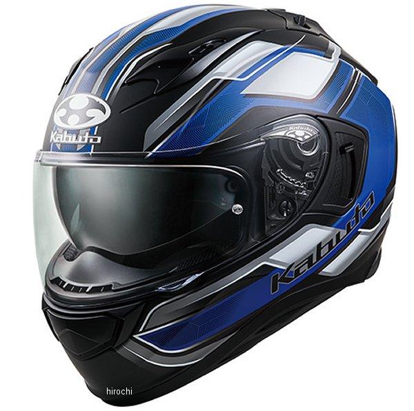 オージーケーカブト OGK KABUTO フルフェイスヘルメット KAMUI 3 ACCEL フラットブラック青 XSサイズ 4966094585860 HD店
