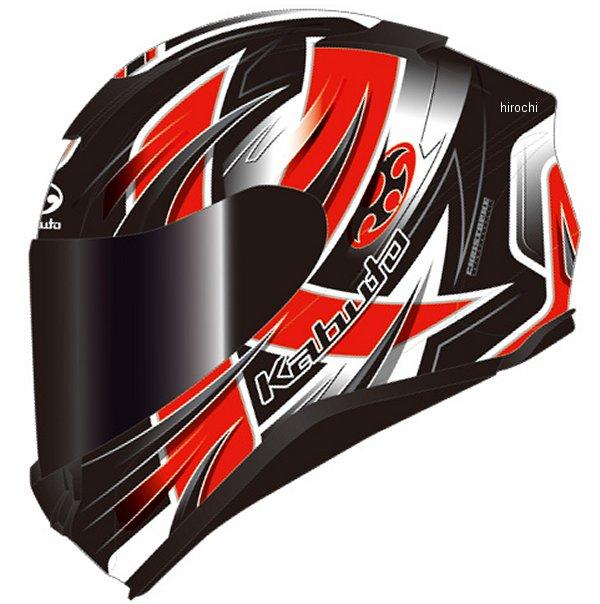 オージーケーカブト OGK KABUTO フルフェイスヘルメット AEROBLADE-5 HURRICANE フラットブラック赤 XXLサイズ 4966094586768 HD店
