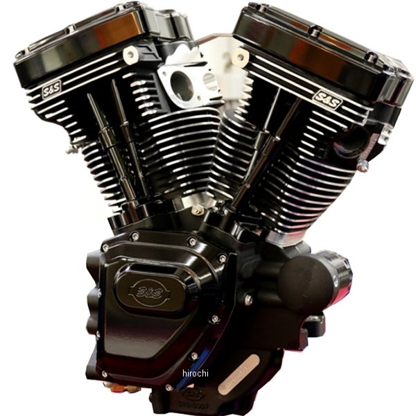 S&Sサイクル S&S Cycle T111 エンジンASSY 585 ED 84年-99年 ハーレー HARLEY 99年-06年 BIG TWIN ブラック 310-0830 HD店