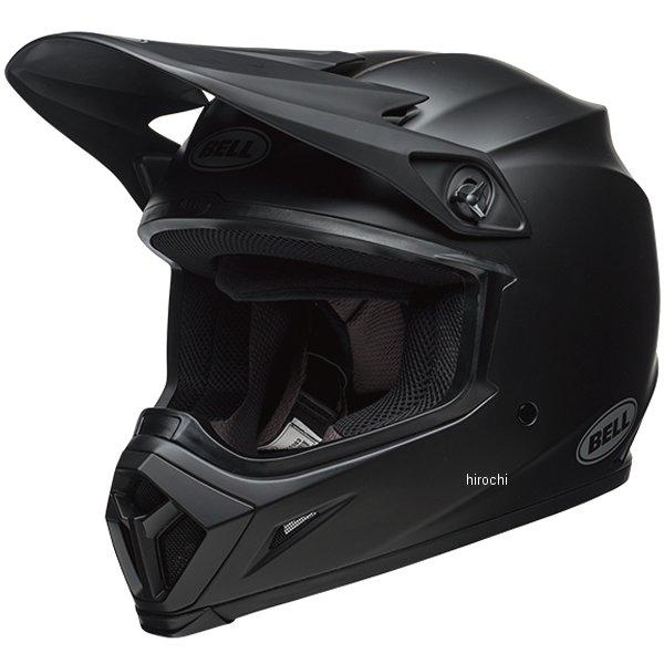 【メーカー在庫あり】 ベル BELL オフロードヘルメット MX-9 MIPS ソリッド マットブラック Lサイズ(59cm-60cm) 7091720 HD店