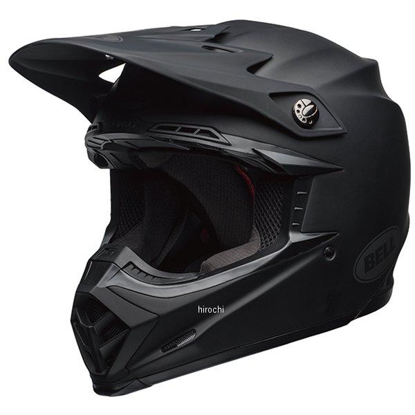 【メーカー在庫あり】 ベル BELL オフロードヘルメット MOTO-9 MIPS マットブラック XLサイズ(60cm-61cm) 7091805 HD店