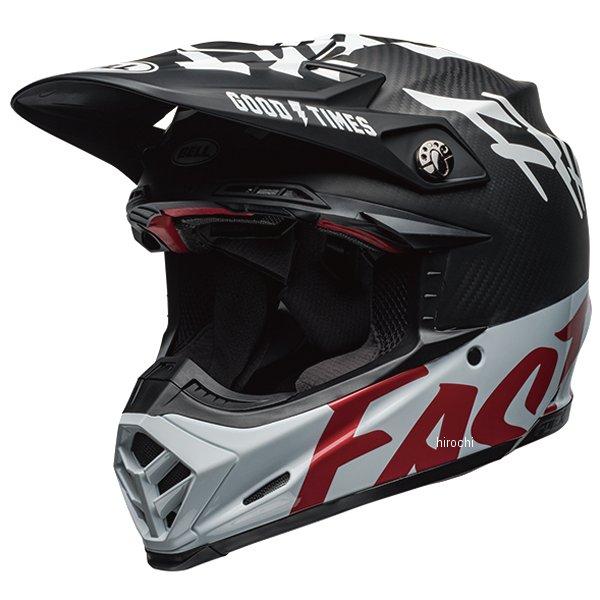 【メーカー在庫あり】 ベル BELL オフロードヘルメット MOTO-9 FLEX ファストハウス WRWF 黒/白/赤 Lサイズ(59cm-60cm) 7098931 HD店