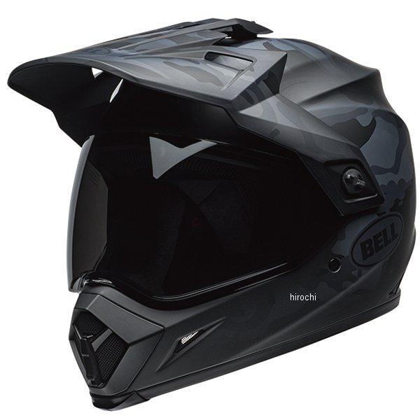【メーカー在庫あり】 ベル BELL オフロードヘルメット MX-9 アドベンチャー MIPS ステルス マットブラック カモ Lサイズ(59cm-60cm) 7100821 HD店