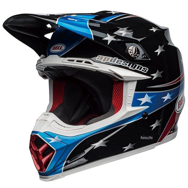 【メーカー在庫あり】 ベル BELL オフロードヘルメット MOTO-9 MIPS トマックレプリカ19イーグル グロスレッド/青/黒 Mサイズ(57cm-58cm) 7103576 HD店