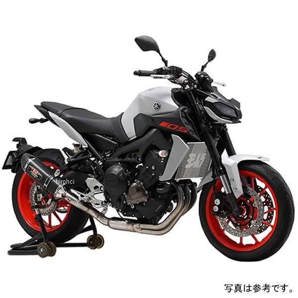 ヨシムラ 機械曲 R77Sサイクロン カーボンエンド EXPORT SPEC 14年-19 MT-09 政府認証(STC) 110-380-5182 HD店