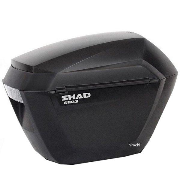 【メーカー在庫あり】 シャッド SHAD SH23 サイドケース 黒無塗装 D0B23100 HD店
