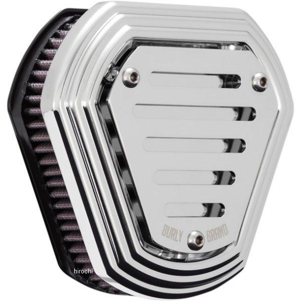 【USA在庫あり】 バーリーブランド BURLY BRAND エアクリーナー HEX クローム 1010-2345 HD店