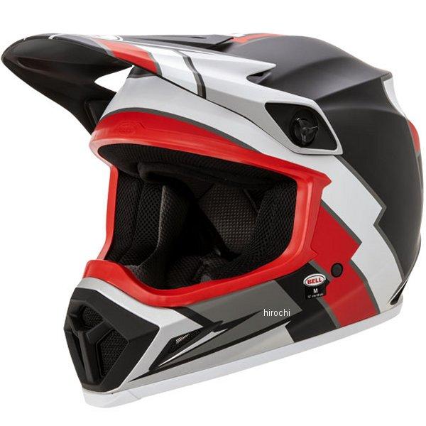 【メーカー在庫あり】 ベル BELL オフロードヘルメット MX-9 MIPS トゥウィッチレプリカ マットブラック/赤/白 Lサイズ(59cm-60cm) 7105602 HD店