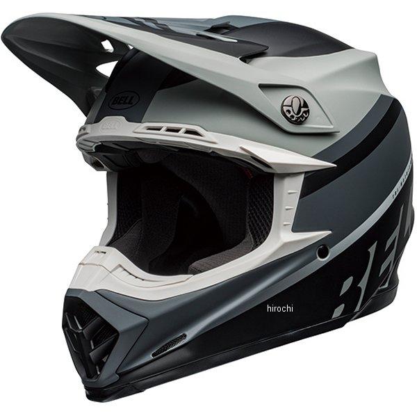 【メーカー在庫あり】 ベル BELL オフロードヘルメット MOTO-9 MIPS プロフェシー マットグレー/黒/白 Mサイズ(57cm-58cm) 7109827 HD店