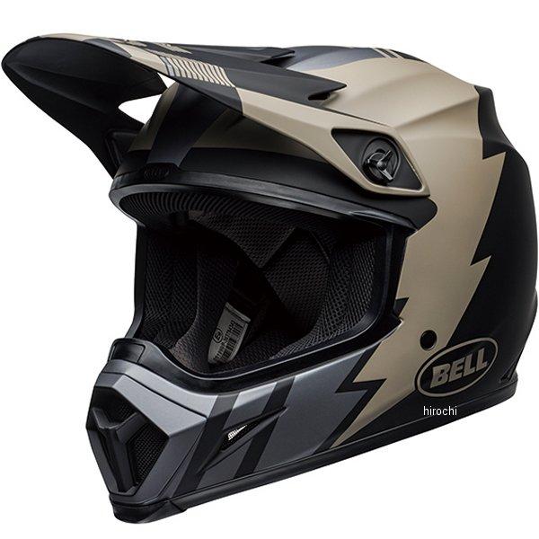 【メーカー在庫あり】 ベル BELL オフロードヘルメット MX-9 MIPS ストライク マットカーキ/黒 XLサイズ(60cm-61cm) 7111345 HD店