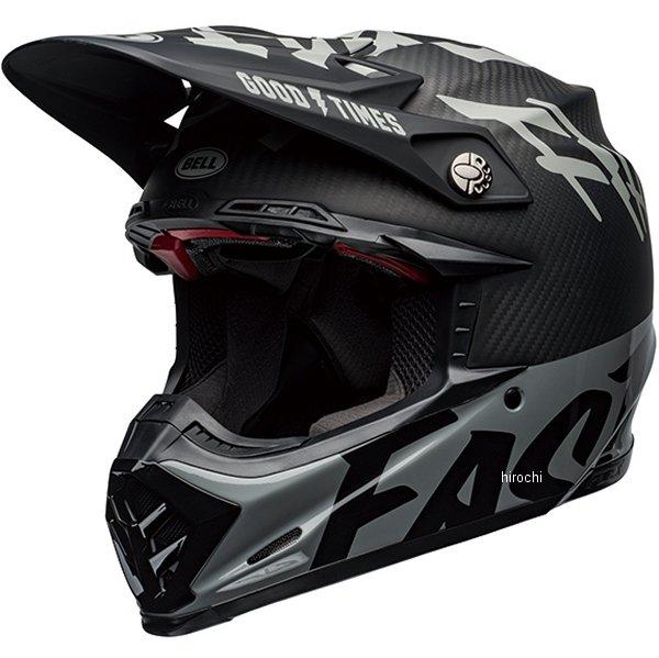 【メーカー在庫あり】 ベル BELL オフロードヘルメット MOTO-9 FLEX ファストハウスWRWF 黒/白/グレー Lサイズ(59cm-60cm) 7111386 HD店