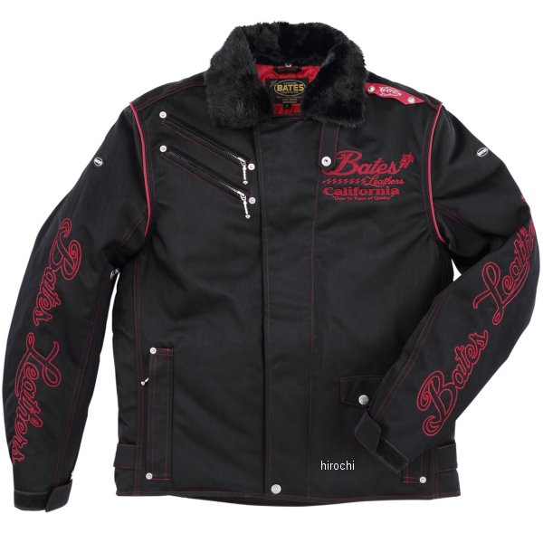 ベイツ BATES 2019年秋冬モデル ナイロンジャケット 赤 Lサイズ BJ-N1954ST HD店
