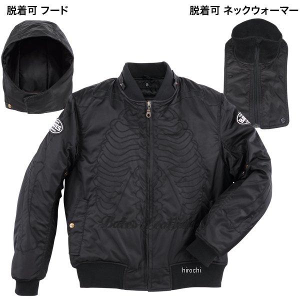 【メーカー在庫あり】 ベイツ BATES 2019年秋冬モデル ナイロンジャケット 黒 XLサイズ BJ-N1955S HD店
