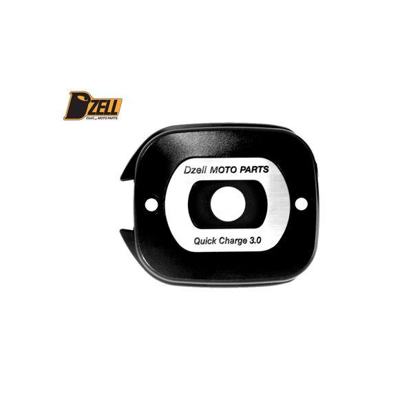 コルハート Dzell USB Twoポート ハーレーHD-03 QC3.0×2口 黒 780217 HD店