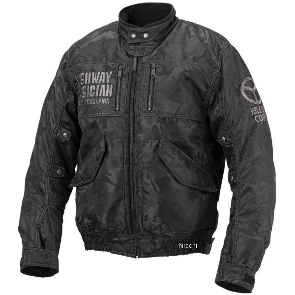 イエローコーン YeLLOW CORN 2019年秋冬モデル クロスマスタージャケット ブラックカモ Mサイズ YB-9300 HD店