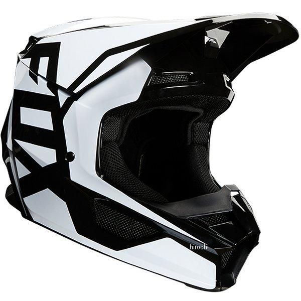 【メーカー在庫あり】 フォックス FOX オフロードヘルメット V1 プリ 黒 Sサイズ(55cm-56cm) 23976-001-S HD店
