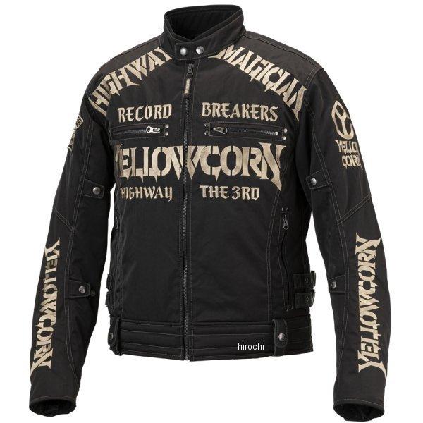 イエローコーン YeLLOW CORN 2019年秋冬モデル ウインターハイウエイマジシャンジャケット 黒/アイボリー LLサイズ YB-9305 HD店