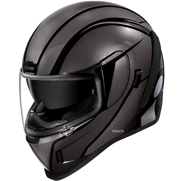 アイコン ICON 2019年秋冬モデル フルフェイスヘルメット AIRFORM CONFLUX 黒 Lサイズ 0101-12302 HD店