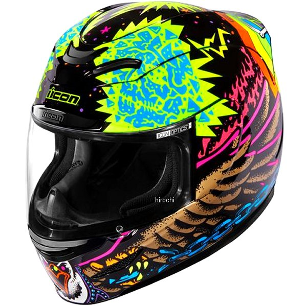 アイコン ICON 2019年秋冬モデル フルフェイスヘルメット AIRMADA TL 黒 Lサイズ 0101-12391 HD店